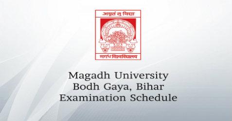 Magadh University, Bihar : Schedule for B Ed  2nd Year