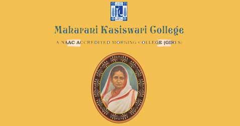 Maharani Kasiswari College Admission 2019, Admission Notice 2019
