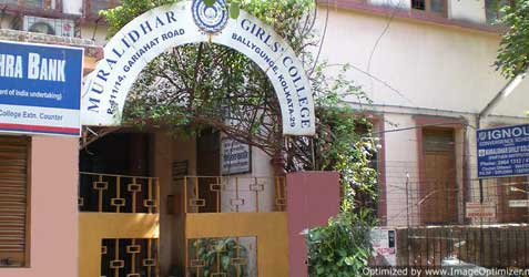 Muralidhar Girls College - Notice for Admission B A/ B SC