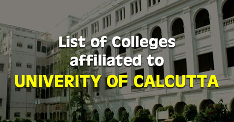 University Of Calcutta Affiliated Colleges College Admission
